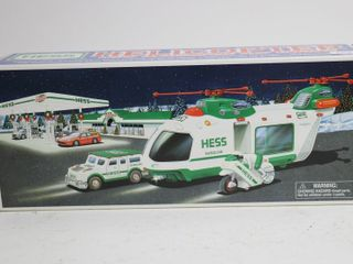 HESS HElOCOPTER WITH MOTORCYClE AND CRUISER 14