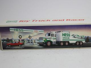 HESS TOY TRUCK AND RACER 13