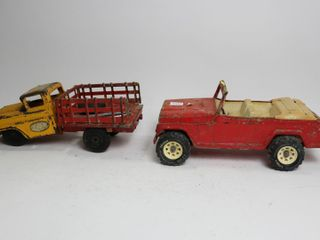 TWO METAl TRUCKS IN POOR CONDITION 12