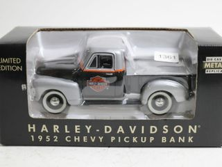 HARlEY DAVIDSON 1952 CHEVY PICKUP BANK 7