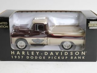 HARlEY DAVIDSON 1952 DODGE PICKUP BANK 7