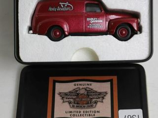 HARlEY DAVIDSON 1951 GMC PANEl VAN DIME BANK