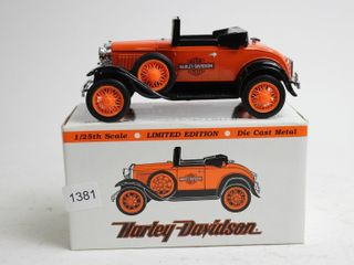 HARlEY DAVIDSON 1929 MODEl A ROADSTER BANK 1 25