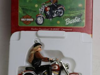 HARlEY DAVIDSON BARBIE ORNAMENT