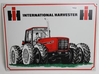 INTERNATIONAl HARVESTER TIN SIGN NEW 16X12