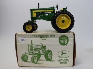 JOHN DEERE 720 HIGH CROP TRACTOR 1990 TWO CYlINDER