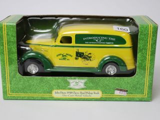 JOHN DEERE 1938 CHEVY PANEl PICKUP TRUCK