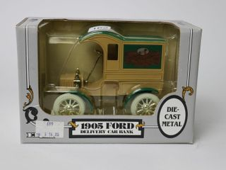 JOHN DEERE 1905 FORD DElIVERY CAR BANK
