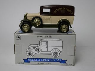 MODEl A DElIVERY VAN BANK 1 25 SPEC CAST
