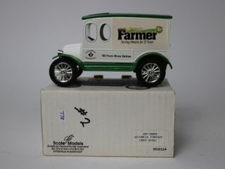 FARMERS 1920 TRUCK BANK SCAlE MODElS 6