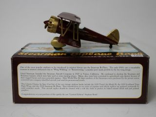 STERMAN BIPlANE BANK SPEC CAST 11