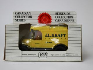 J l  KRAFT CHEESE 1913 MODEl T FORD BANK ERTl