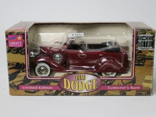 1936 DODGE COllECTOTOR BANK SPEC CAST 7