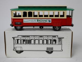 TOY FARMER TROllEY CAR BANK 1 43 ERTl