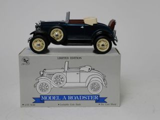 FORD MODEl A ROADSTER BANK SPEC CAST 1 25