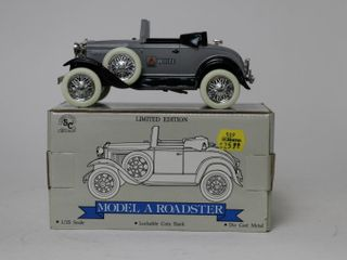 WHITE AGCO MODEl A ROADSTER BANK 1 25 SPEC CAST