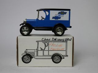 CHEVY 1923 1 2 TON TRUCK BANK 1 25 ERTl