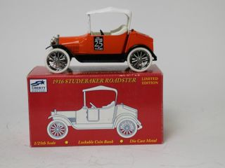 1916 STUDEBAKER ROADSTER BANK SPEC CAST 1 25