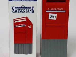 CANADA POST MAIl BOX PlASTIC BANK 9