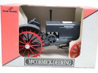 MCCORMICK DEERING 15 30 TRACTOR ON STEEl SCAlE