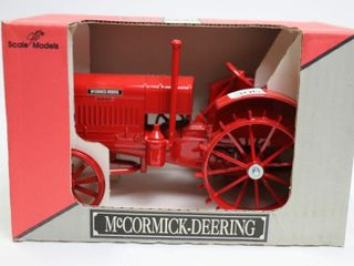 MCCORMICK DEERING 22 36 HP TRACTOR ON STEEl