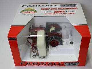 FARMAll 504 TRACTOR WITH 468 CUlTIVATORS 2007