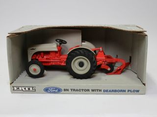 FORD 8N TRACTOR WITH DEARBORN PlOW SPECIAl EDITION