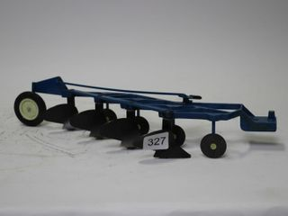 FORD 4 FURROW PlOW ERTl 1 16