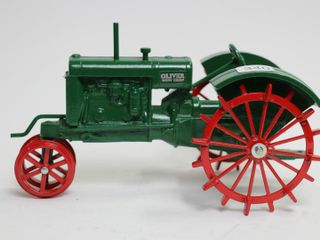 OlIVER ROW CROP TRACTOR ON STEEl SCAlE MODElS