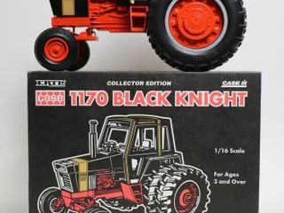 CASE 1170 BlACK KNIGHT TRACTOR WITH DUAlS
