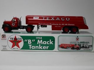 TEXACO 1958 B MACK TANKER PlASTIC BANK