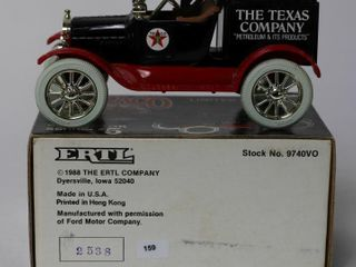 TEXACO 1918 FORD RUNABOUT BANK ERTl 6