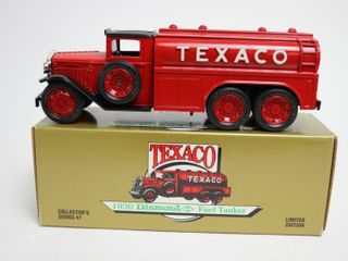 TEXACO 1930 DIAMOND FUEl TANKER BANK ERTl 8