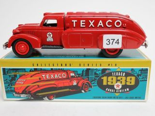 TEXACO 1939 DODGE AIRFlOW BANK 8