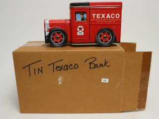 TEXACO TIN TRUCK BANK 7