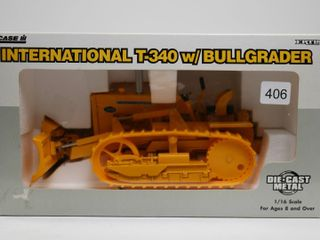 INTERNATIONAl T 340 CRAWlER WITH BUllGRADER