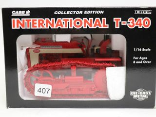 INTERNATIONAl T  340 CRAWlER COllECTOR EDITION