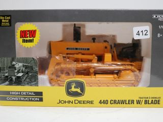 JOHN DEERE 440 CRAWlER WITH BlADE ERTl 1 16