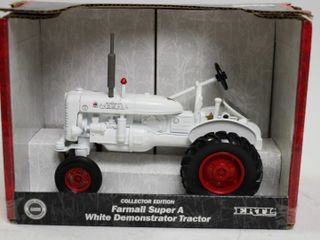 FARMAll SUPER A WHITE DEMONSTRATOR TRACTOR