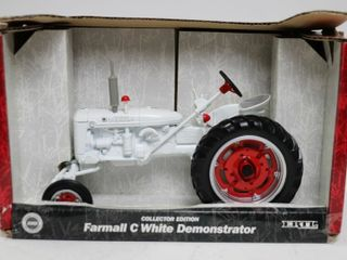 FARMAll C WHITE DEMONSTRATOR TRACTOR