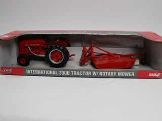 INTERNATIONAl 300 U TRACTOR WITH ROTARY MOWER