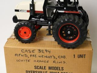 CASE 3294 MFWD FRONT WEIGHTS ORANGE RIMS