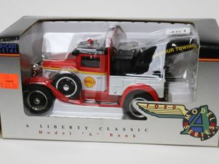 SHEll MODEl A TOW TRUCK BANK SPEC CAST 7