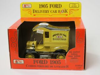 HOME HARDWARE 1905 DElIVERY CAR BANK 1 25 ERTl