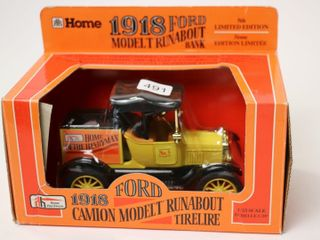 HOME HARDWARE 1918 FORD CAMION MODEl T RUNABOUT