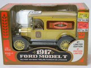 HOME HARDWARE 1917 FORD MODEl T VAN BANK