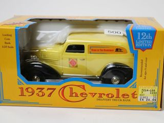 HOME HARDWARE 1937 CHEVROlET TRUCK BANK 1 25