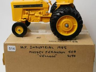 MASSEY FERGUSON 50E INDUSTRIAl TRACTOR WITH DUAlS
