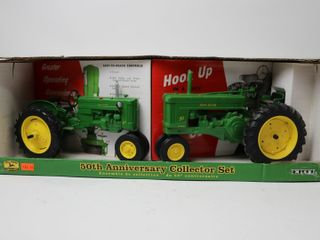 JOHN DEERE 40 AND 70 TRACTOR SET 50TH ANNIVERSARY