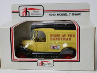 HOME HARDWARE 1913 MODEl T BANK 1 25 ERTl